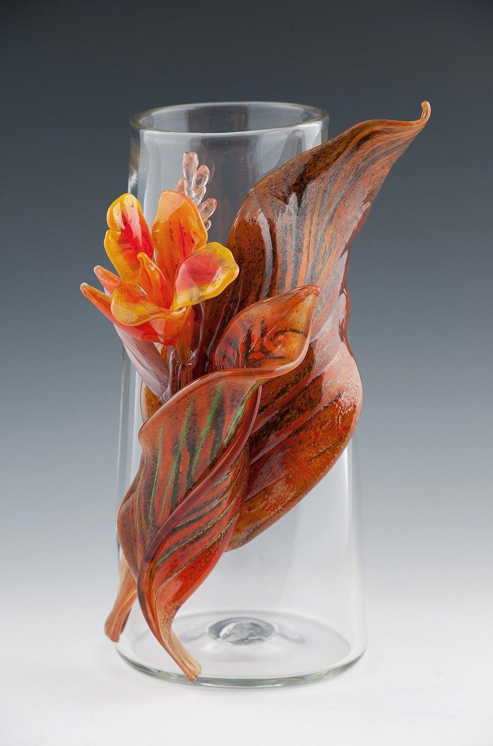 Canna Lily Vase.