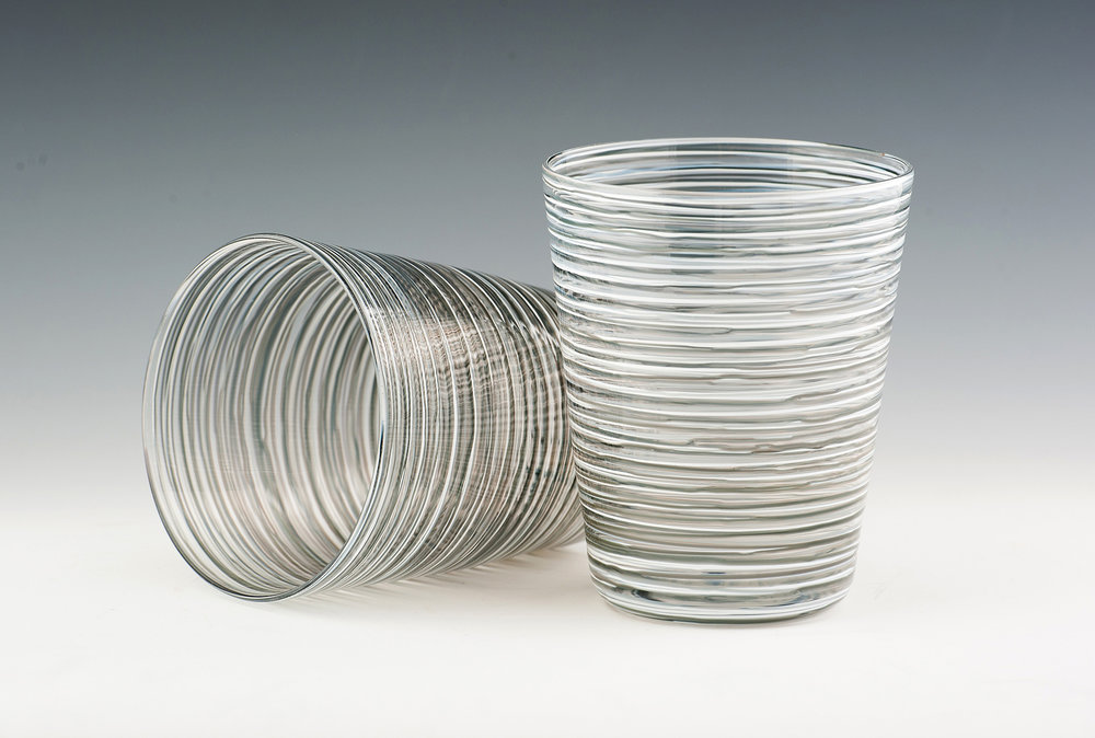 Hoops Tumblers, seen here in Grey Stripes.