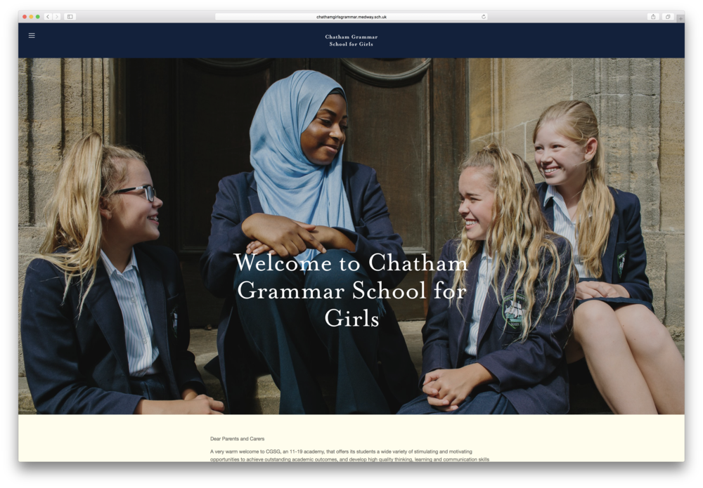 mindbicycle web design girls grammar school kent.png