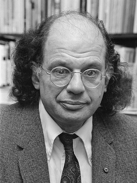 Photograph of Allen Ginsberg by Dijk, Hans Van / ANEFO.