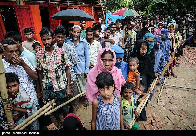 Displaced Rohingya Muslims. Photograph by Seyyed Mahmoud Hosseini, Tasnim News Agency, CC 4.0.