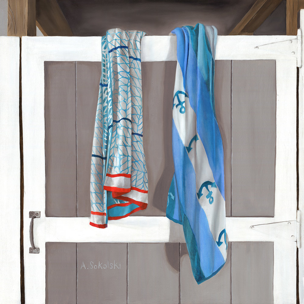 Rope and Anchor Beach Towels