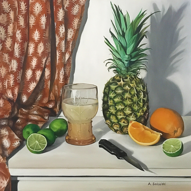Goblet and Pineapple