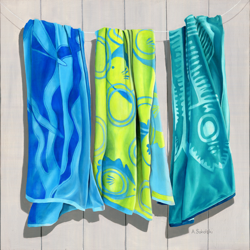 Three Fish Beach Towels