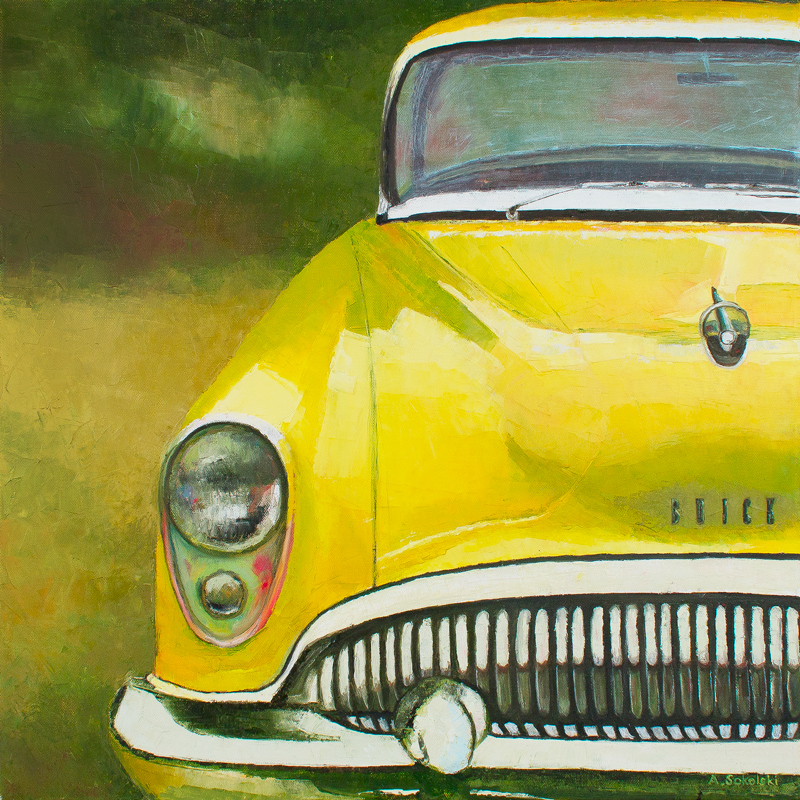 Yellow Buick