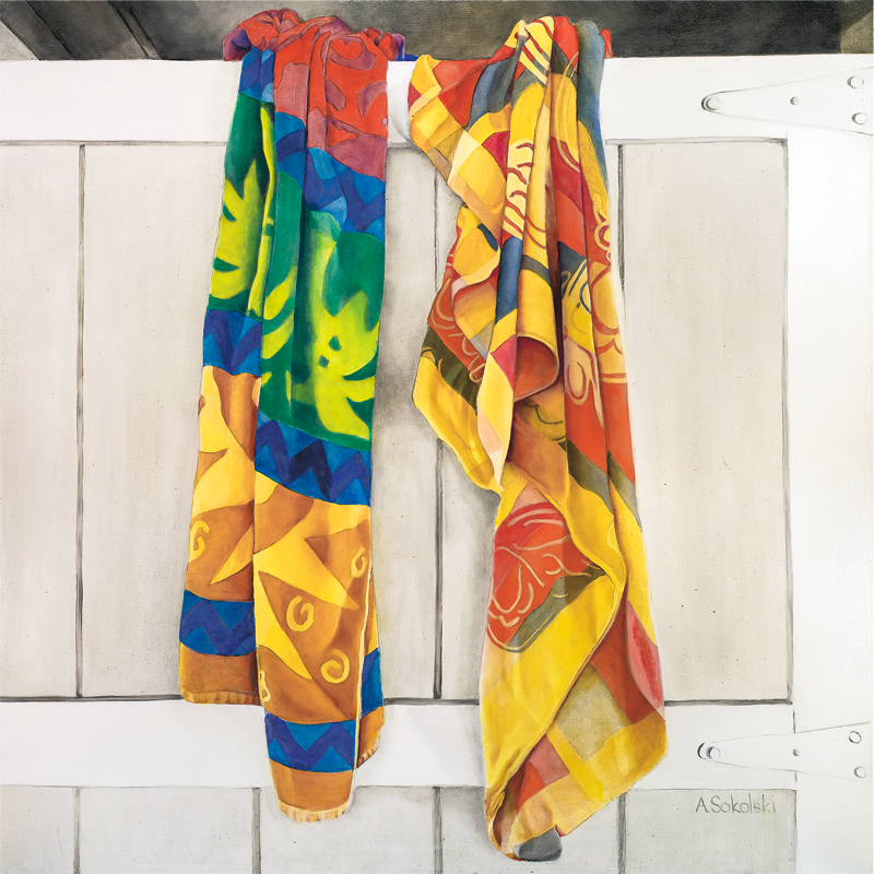 Two Beach Towels