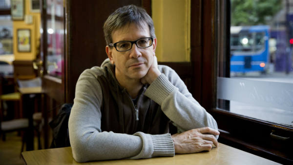 Argentine writer Eduardo Berti.