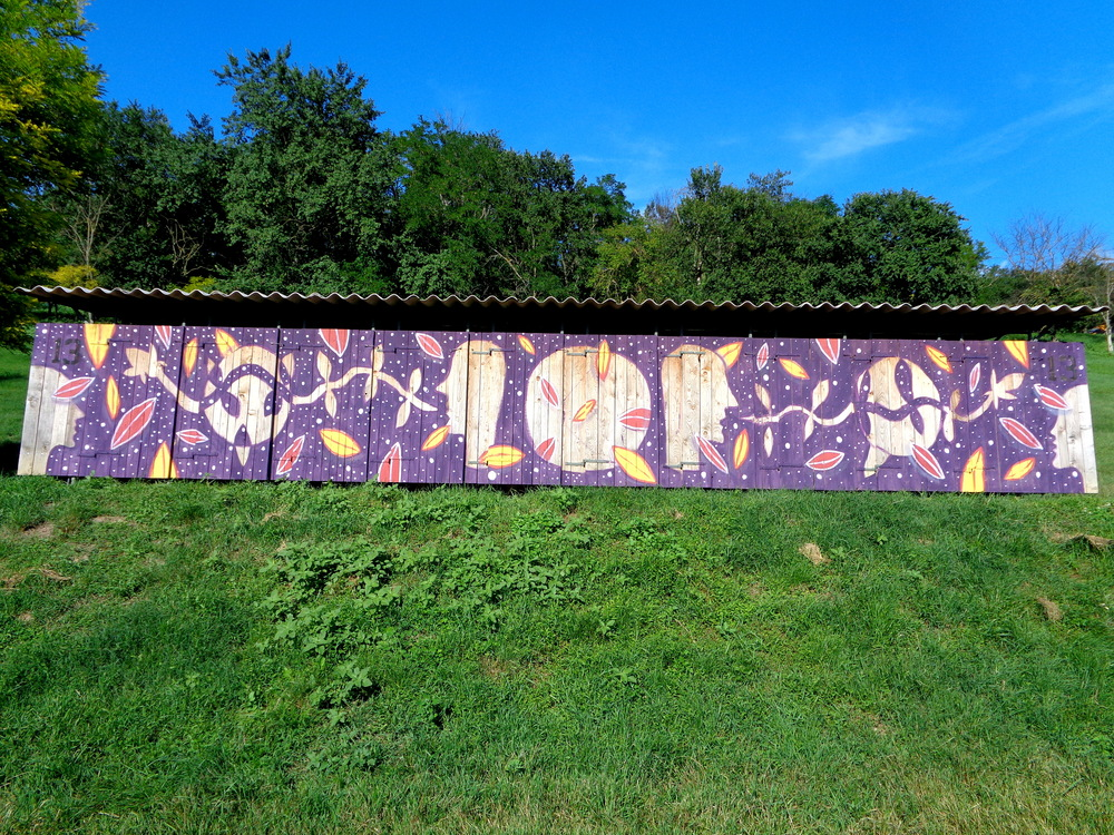 Mural commissioned by Ozora Festival, Hungary 2016
