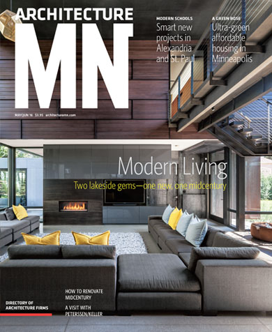 Good Lake Waconia House Featured In Architecture Minnesota Amazing Ideas