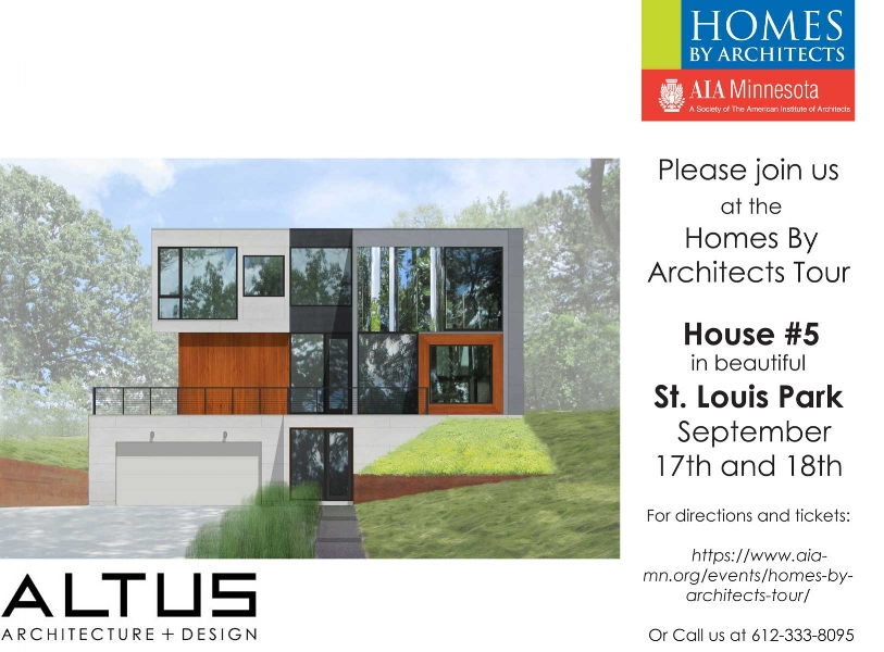 Altus Architecture Designs Newly Completed Home In St Louis Park