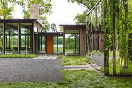 Woodland House Featured In Dwell, Architectural Digest And Trends