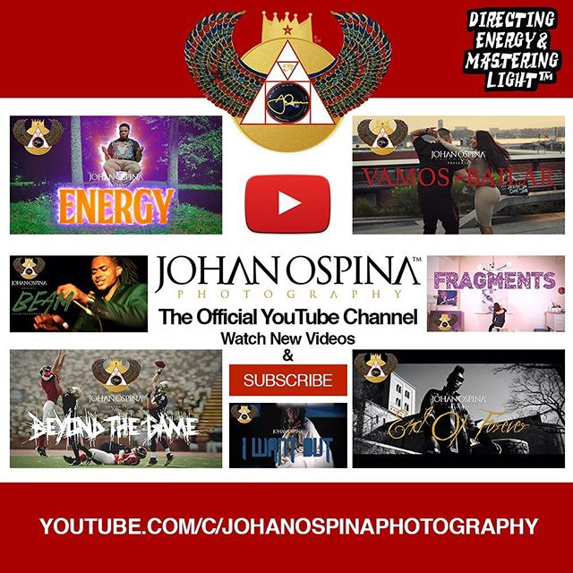 Johan Ospina Photography™ 🎬 The official YouTube channel 📡 Watch videos and subscribe! 📺  ART 🏆🎨 FILM 🎥🎞 PHOTOGRAPHY 📸💥 VIBE WITH US 🌊💎 🌐 johanospina.com 💻 🔌💰😎 Booking Projects for 2019❗️Send a DM or 📩 info@johanospina.com ✅ 👑 DIRECTING ENERGY & MASTERING LIGHT™⚡️💡 • • • • • #director #cinematographer #videoeditor #nyc #brooklyn #filmmaker #photographer #YouTubeChannel #contentcreator #creativeentrepreneur #film #videomarketing #digitalmarketing #branding #artofvisuals #musicvideos #commercial #directorofphotography #creative #visionary #filmmaking #YouTube #videos #PicOfTheDay #visualartist #videoproduction #JohanOspinaPhotography #DirectingEnergyandMasteringLight