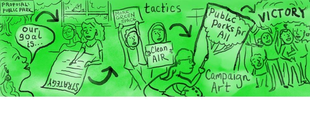 Cartoon for National Parks Conservation Association (April, 2018):