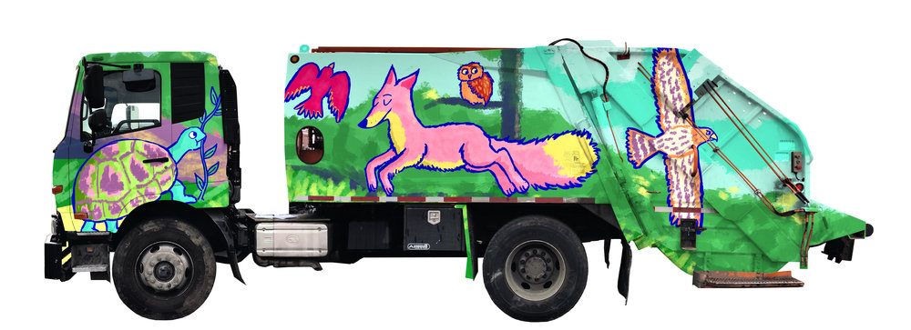 Recycling truck design (2018)