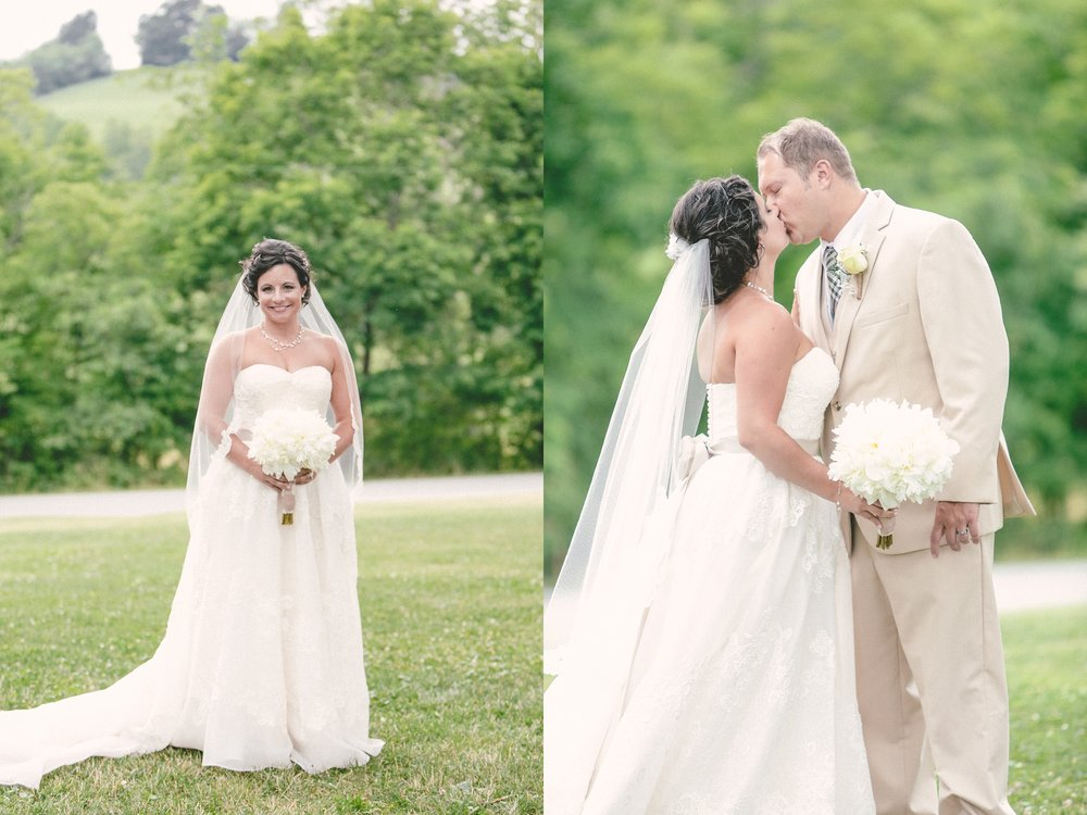 Pear shaped bride in a melissa sweet gown plus size Pittsburgh PA