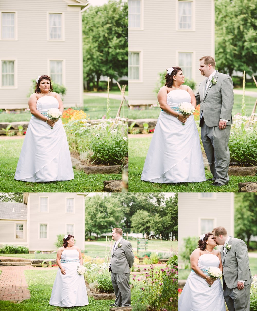 Plus size bride in Boardman Park OH