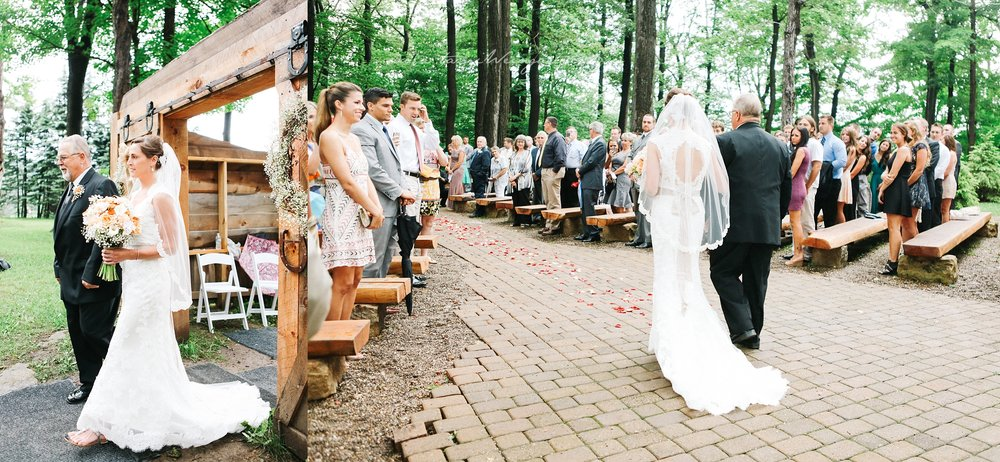Ceremony at Meadowoods at Seven Springs Mountain Resort