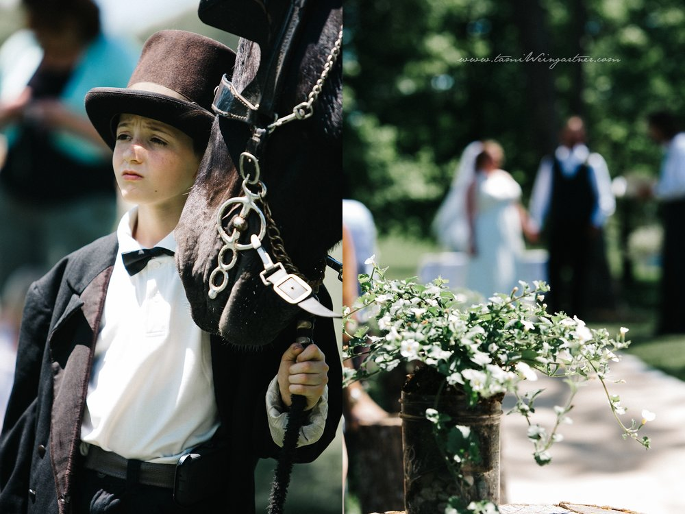 Equine Wedding Details