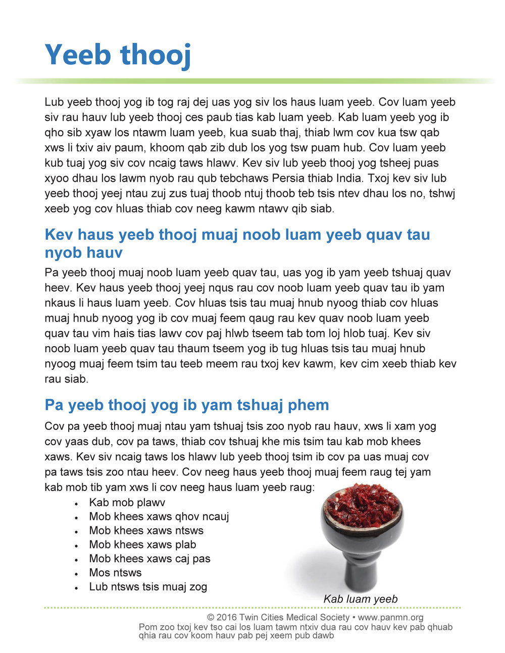 Hookah - Hmong