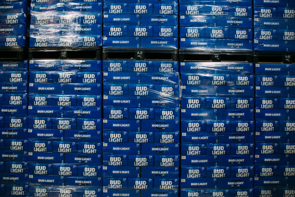 Bud Light Stacks