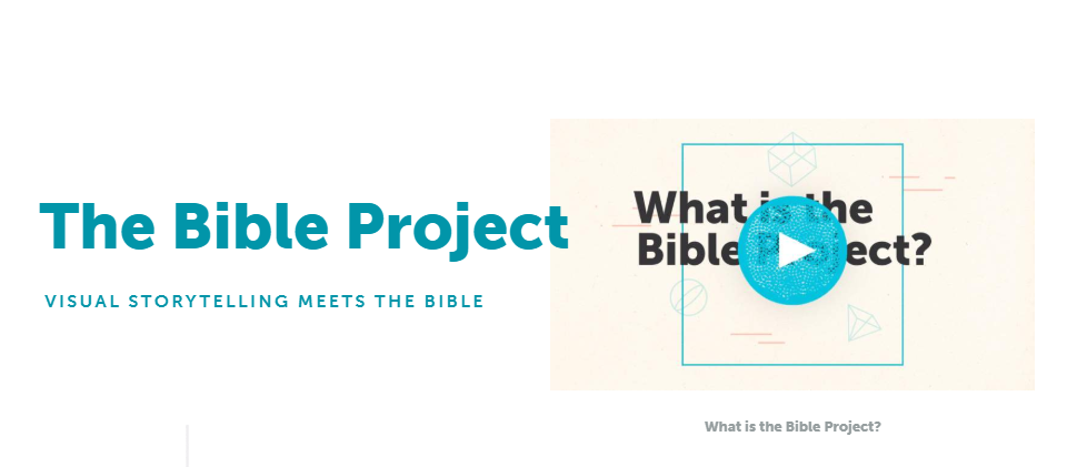 The Bible Project - Helpful videos about the different books of the bible and more! Visit the Bible Project website here.