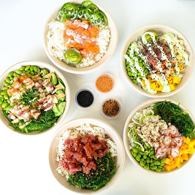 Ordering from @postmates this weekend. WBU? #mainlandpoke #flowmotionbaby #weekendeats *Free delivery until 10/14.
