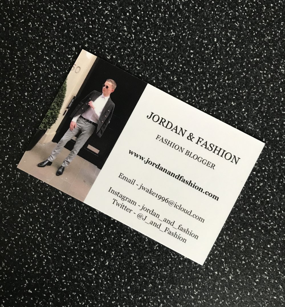 High End Fashion Business Cards Images - Card Design And Card Template