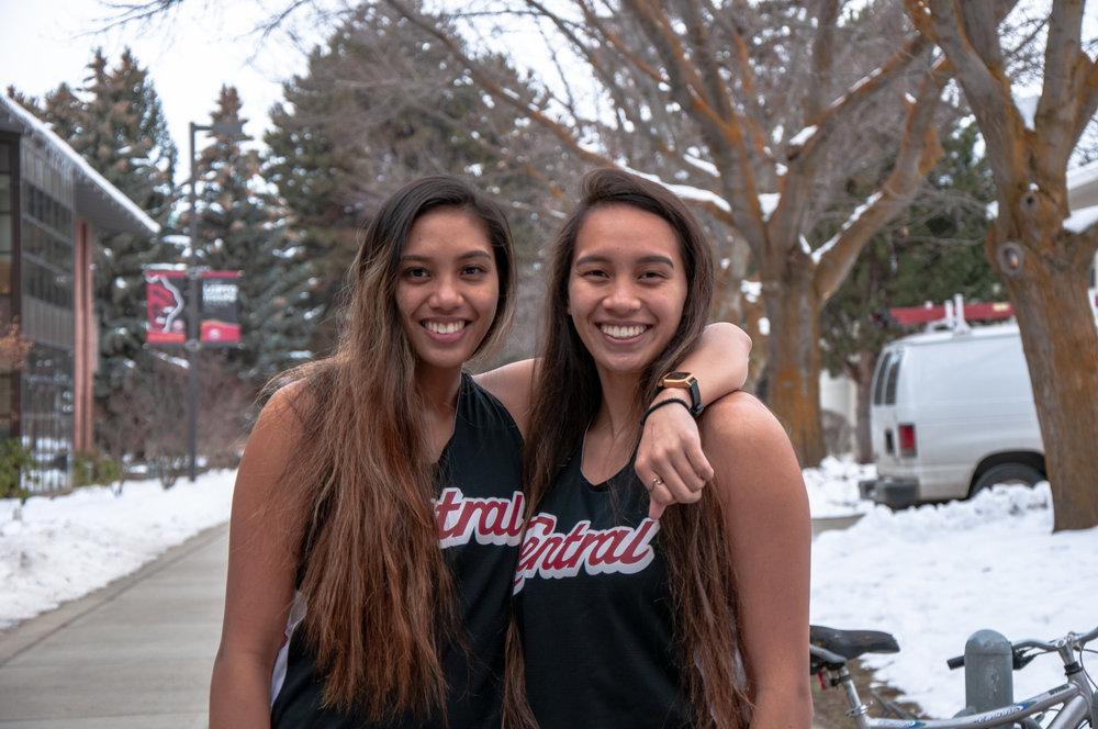 Aliyah Pana, 22 and Alexis Pana, 20