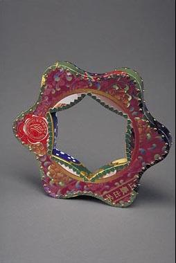 Ruffle astronomy bracelet