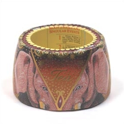 "Column bracelet with pink elephant head ""Tea"""