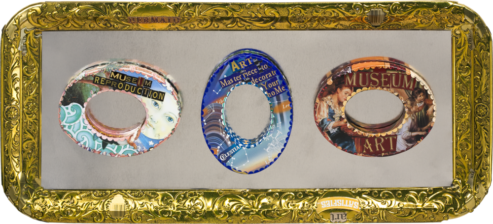 berman art jewelry gilt frame
