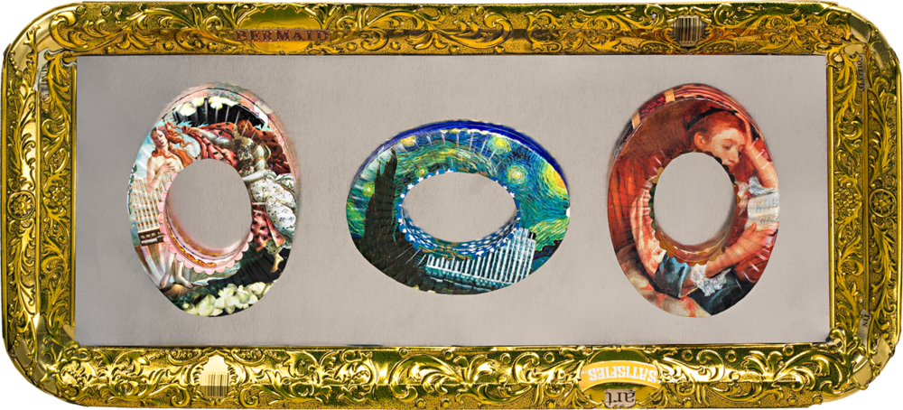 berman art jewelry bracelets botticelli, van gogh, renoirc