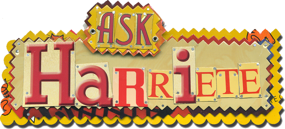 ASK Harriete information for the Arts and crafts community