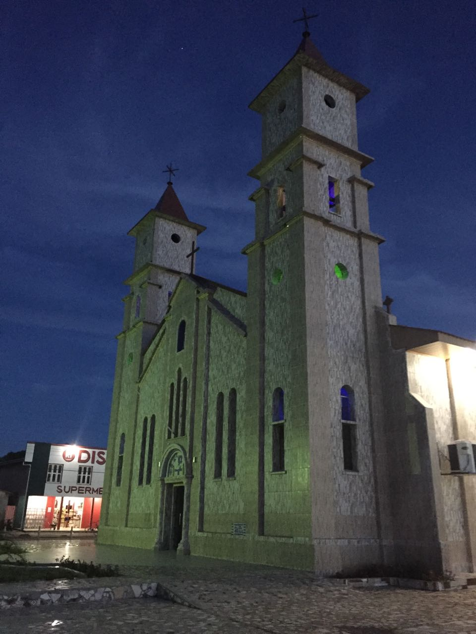 Igreja Sao Francisco in Eirunepé, Brazil.