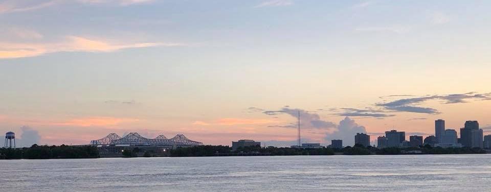 New Orleans at dusk