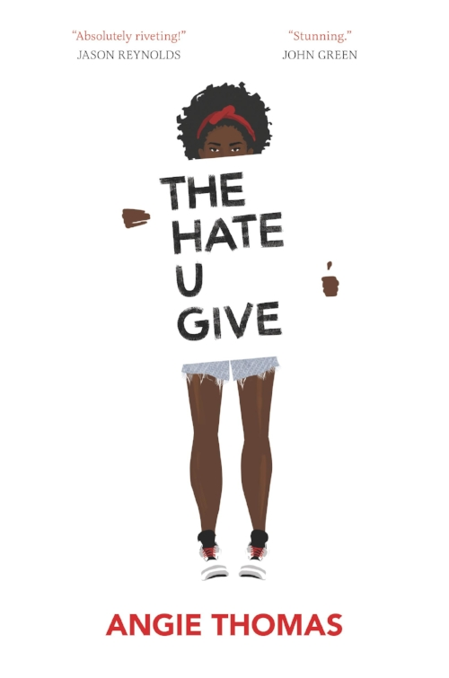 #browngirlwrites The Hate You Give by Angie Thomas book review by Ananya Vahal.