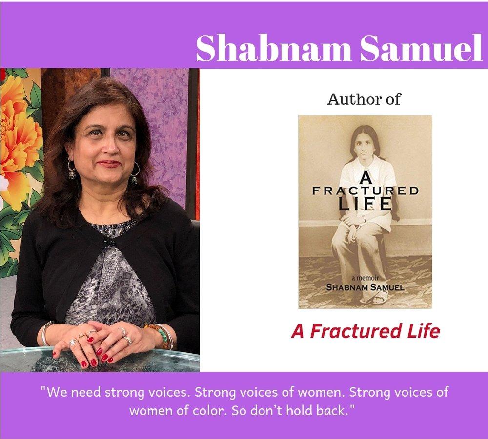 #browngirlwrites Ananya Vahal interviews author Shabnam Samuel.