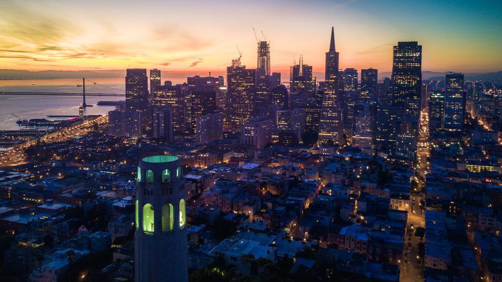 Headquartered in San Francisco -