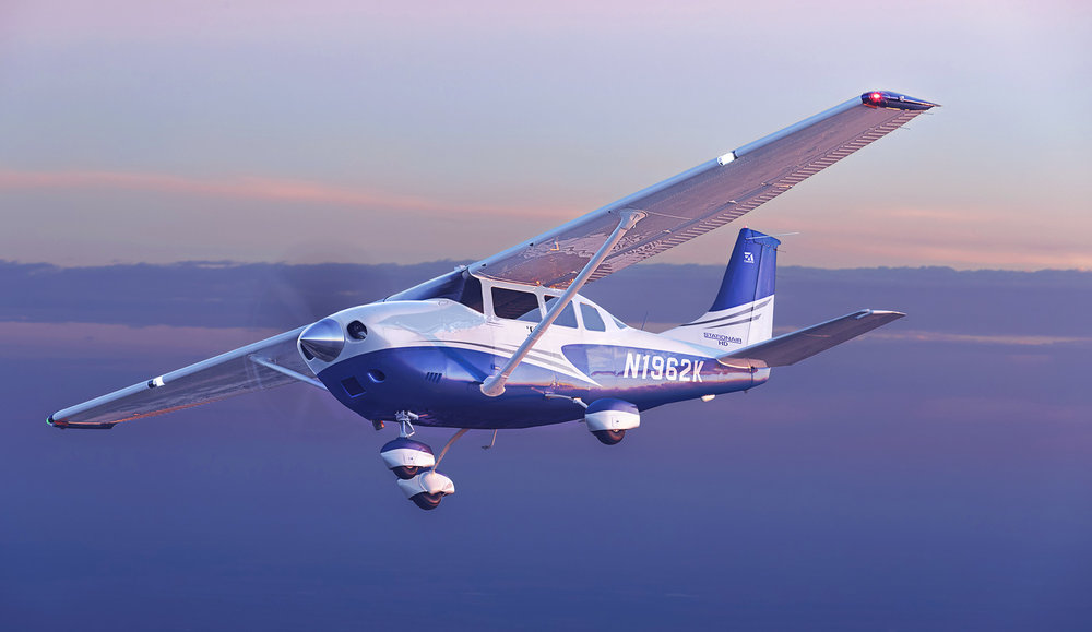Our aeroplane - The Cessna Stationair is one of the most versatile aeroplanes available today, and used by charities all around the world.