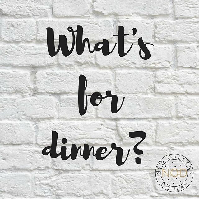 Nothing is worse than waiting for mom to cook dinner and realizing you're the mom. Thank goodness for #UberEats! Tag your favorite restaurant for delivery!  #NewOrleansDoulas #NewOrleans #Doula