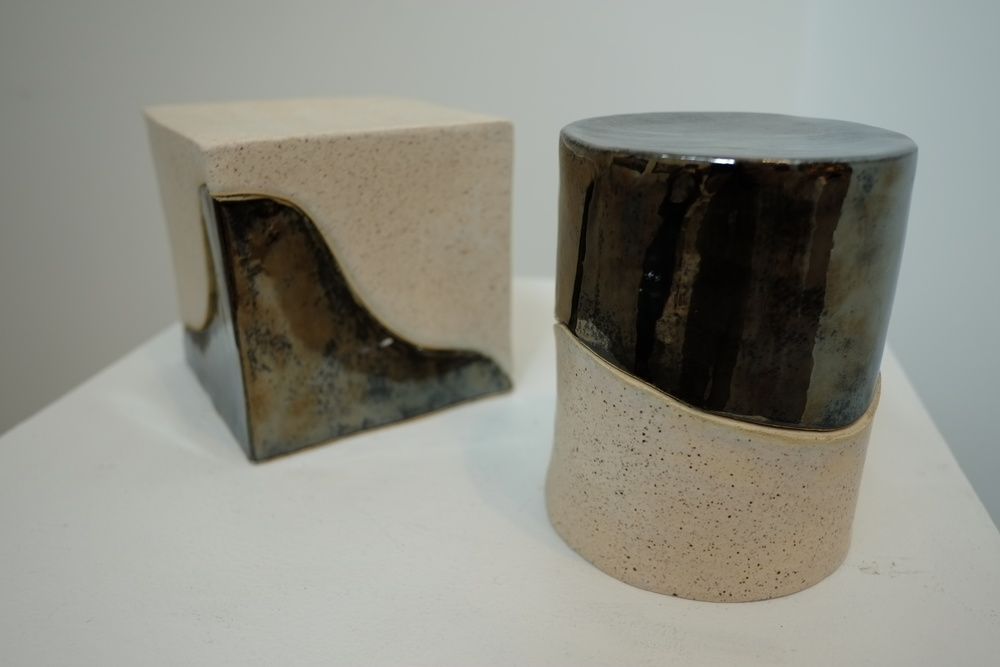 Silver Speckled Box (stoneware clay) - Rachel Markey