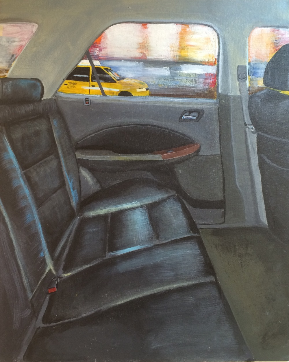 The Ride (acrylic) - Jennifer Herrera