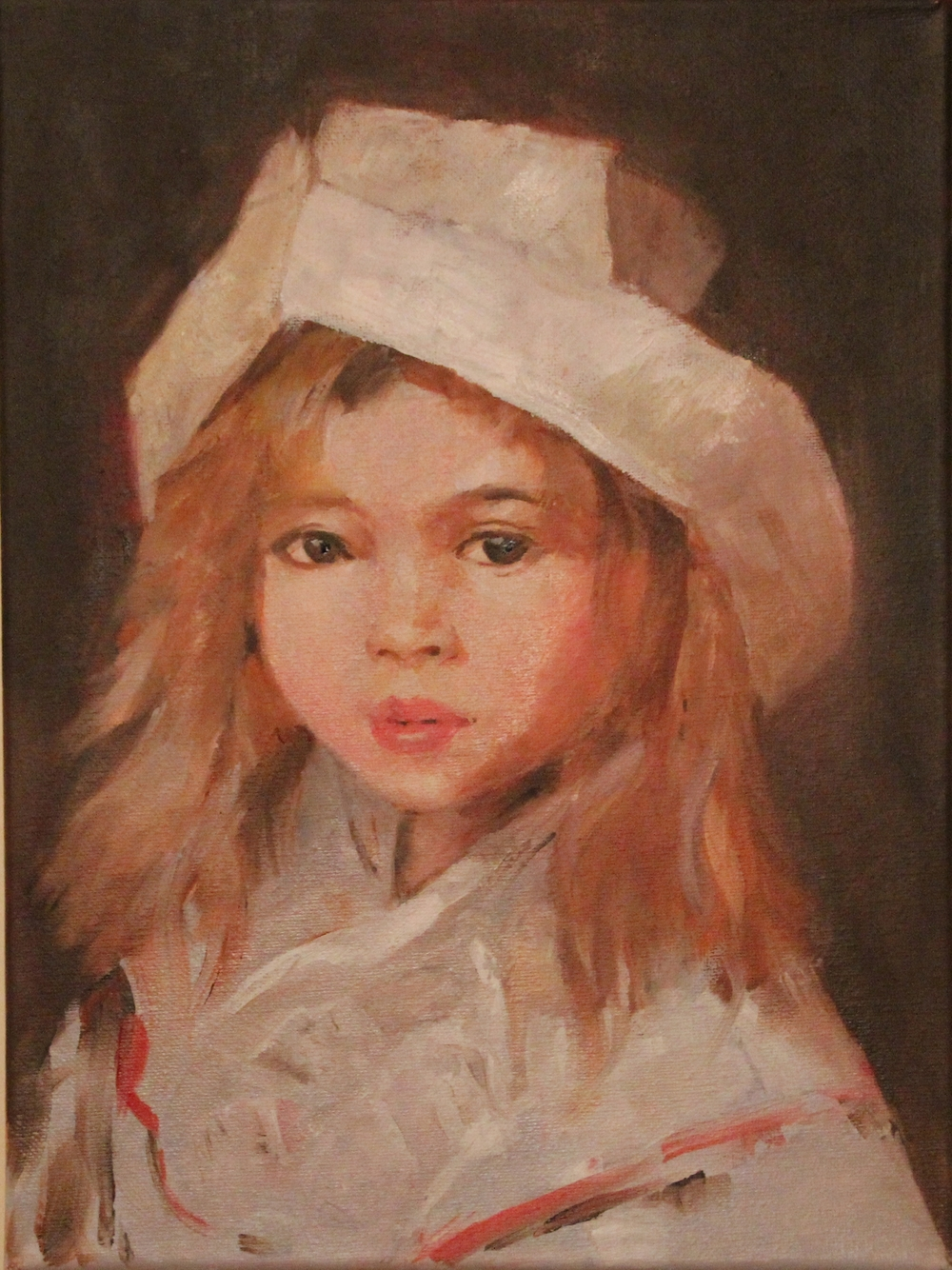 American Girl (oil) - Angela Liu