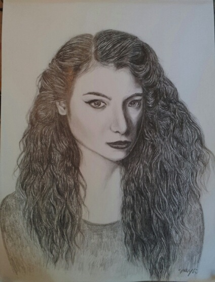 Lorde (graphite) - Sandy Li