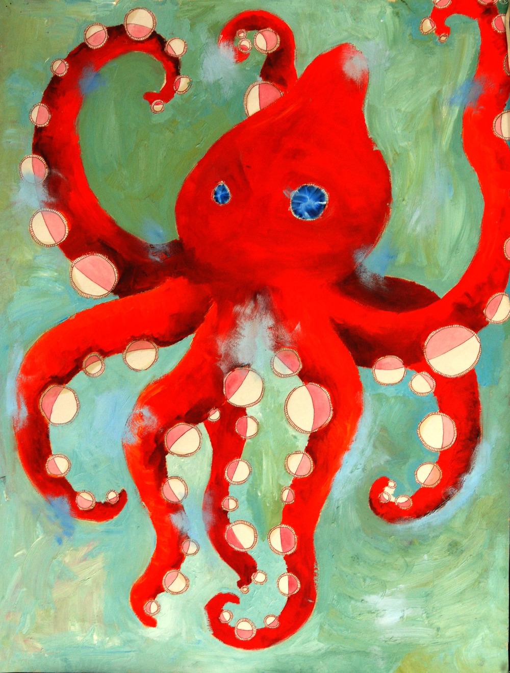 Octo (acrylic) - Dilly Sanborn-Marsh