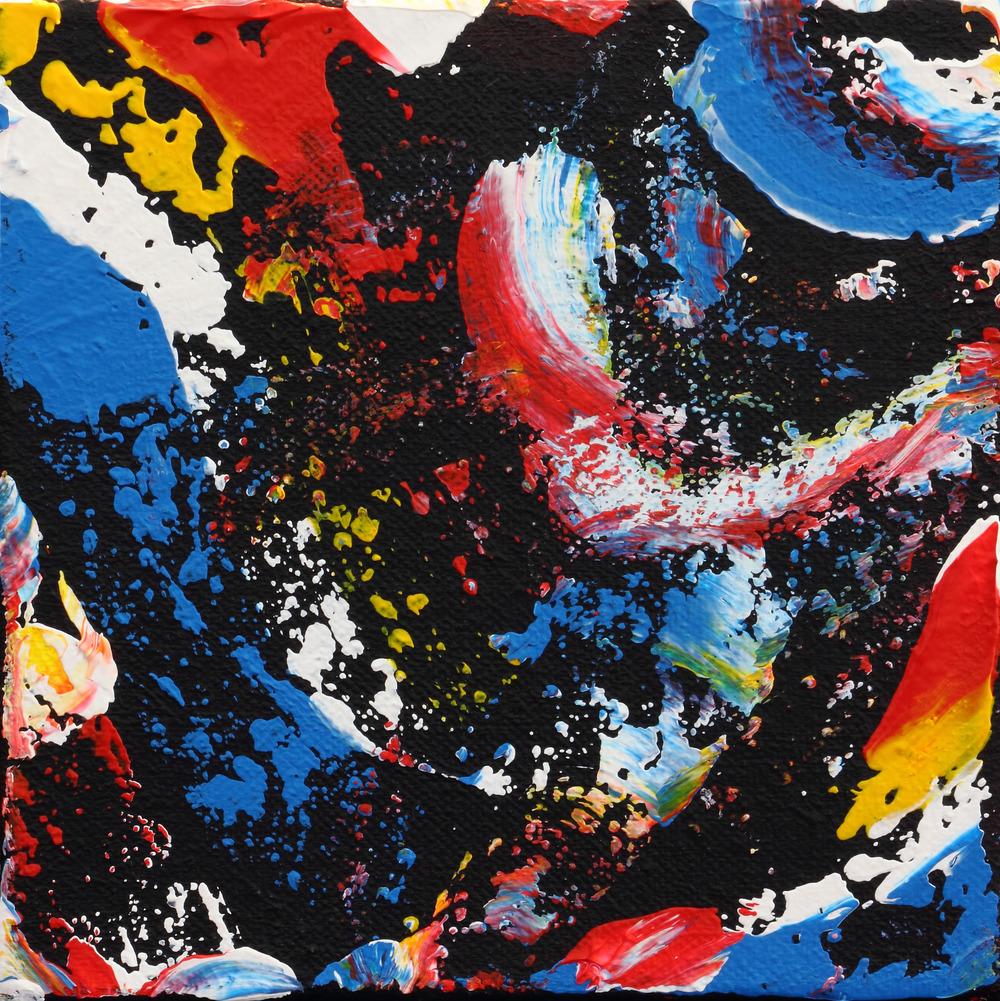 Untitled #96 (acrylic) - Katherine Kettner