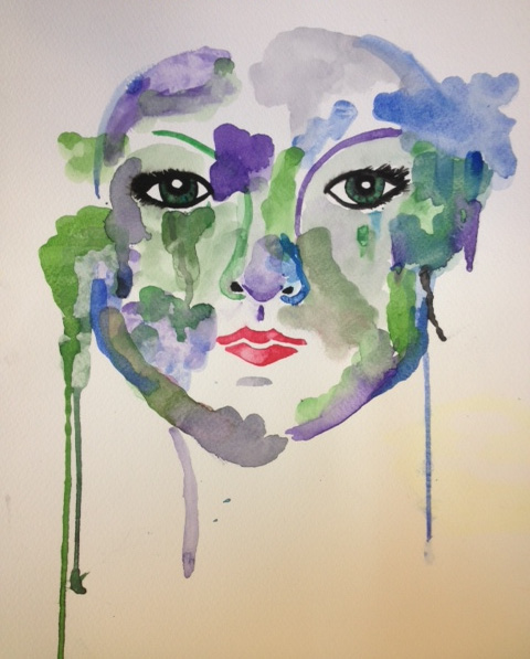 Watercolor Eyes (watercolor) - Lexi Taylor