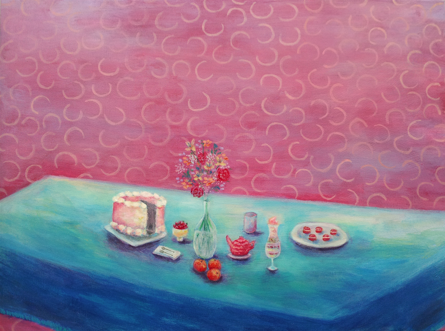 Dessert for Dinner (acrylic) - Sandy Li
