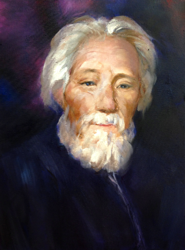 Grandfather Time (oil) - Julie Peng