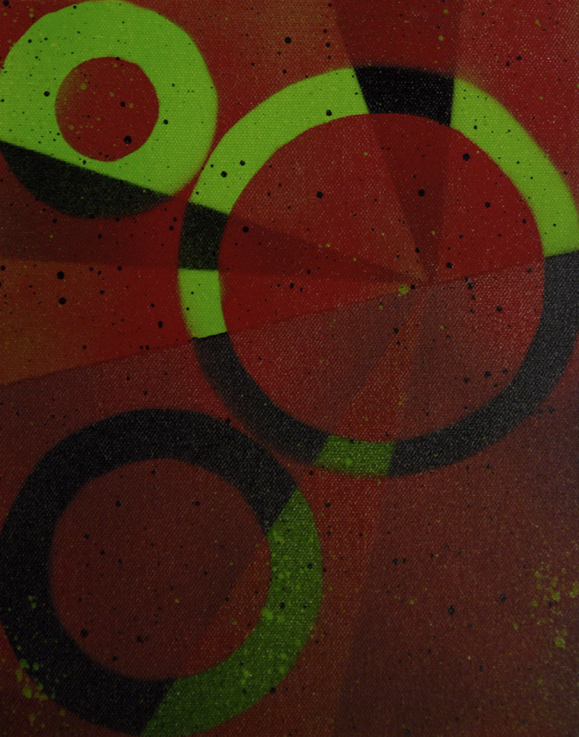 Circles (acrylic) - Katherine Kettner